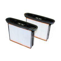 2 cartucce filtro in poliestere FKP 4300 per aspiratori Starmix