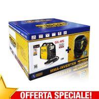 Saldatrice Inverter Deca SIL 415 con Maschera Auto Oscurante WM 23