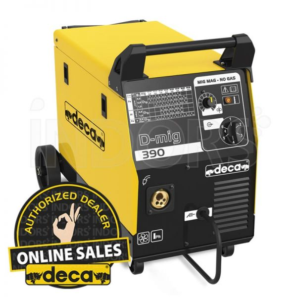 Deca D-mig 390 - Saldatrice MIG Gas e No Gas