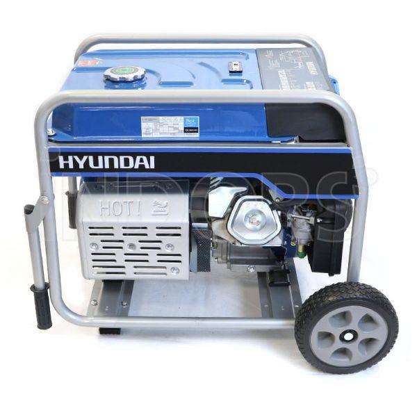Hyundai dynamic 65013 hy5500e gruppo elettrogeno carrellato for Generatore di corrente hyundai hy 3000 3 kw