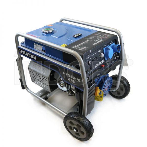 Hyundai Dynamic 65014 HY5500E-ATS - Generatore di Corrente Monofase ATS