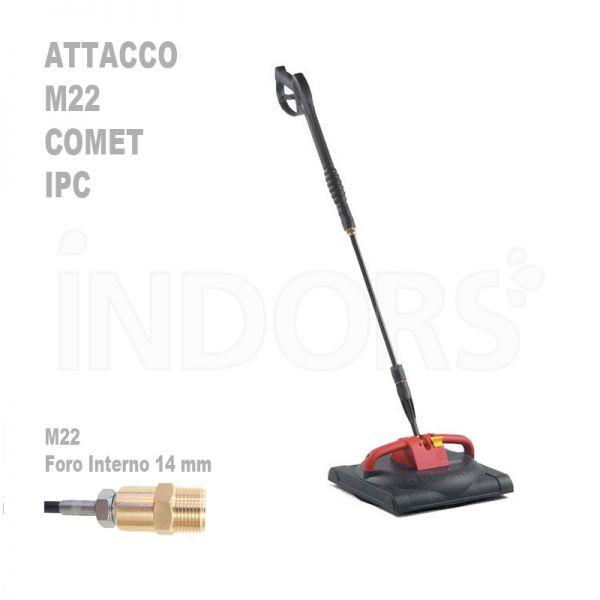 Lancia lavapavimenti SC 155 - Attacco Comet M22