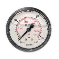 Manometro per Idropulitrici Professionali - Bagno di glicerina da 63 mm