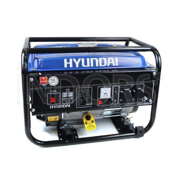 Hyundai pt 3000 gruppo elettrogeno monofase benzina for Generatore di corrente hyundai hy 3000 3 kw
