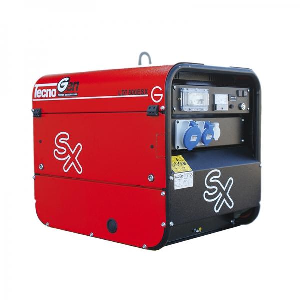 TecnoGen Serie SX - Generatore di Corrente Silenziato Monofase