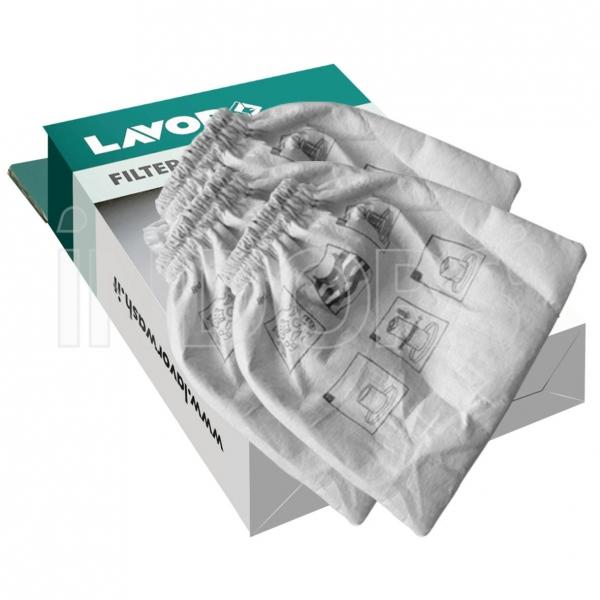 Lavor Filtri Panno per Aspiratori - 5.212.0101 conf. 3 pzi