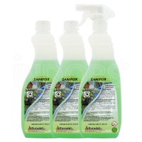 Eurodet Sanifox 750 ml - Detergente Sanificante Profumato