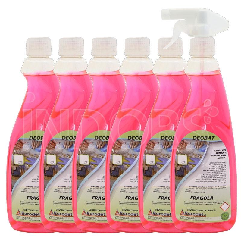 Eurodet Deobat 750 ml - Detergente Igienizzante