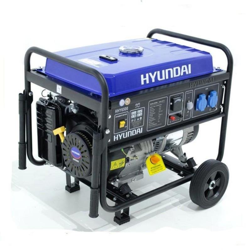 Generatore hyundai 5 kw carrellato in super offerta for Generatore di corrente 10 kw
