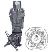 TESTINA ROTANTE IDROCINETICA PER LAVAGGIO CISTERNE PA A80R2 - 120 RPM