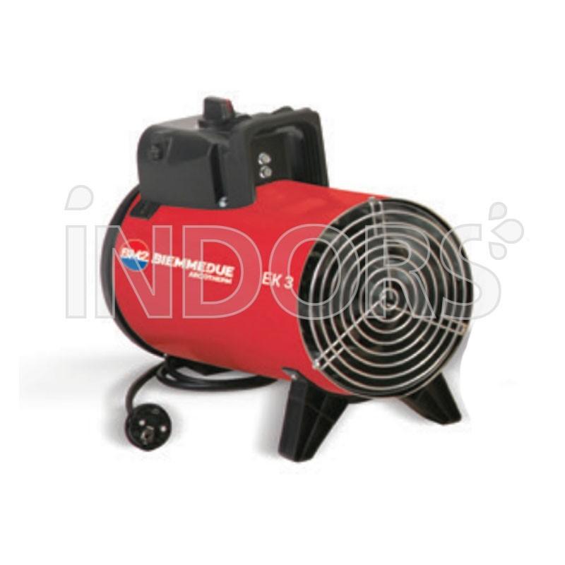 Biemmedue EK 3 - Generatore Aria Calda Elettrico Professionale