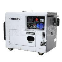 Hyundai DHY6000SE Diesel Silenziato Monofase 5,3 KW