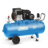 ABAC PRO B4900 200 CT4 - Compressore a Cinghia 200 Litri
