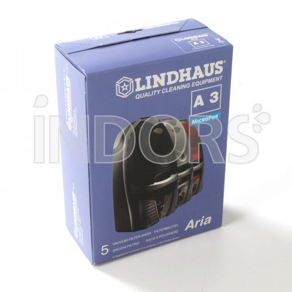 Sacchetti A3 Lindhaus - Per Aspirapolveri