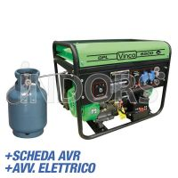 Vinco 60170 CC2000/LPG/E/B - Generatore di Corrente a Gas