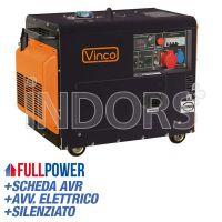 VINCO DG7500SET - Generatore Silenziato Trifase 5 kW cod. 60230