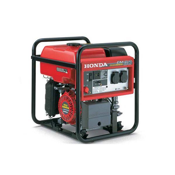 Honda em 30 gruppo elettrogeno monofase 4 tempi for Generatore di corrente honda usato