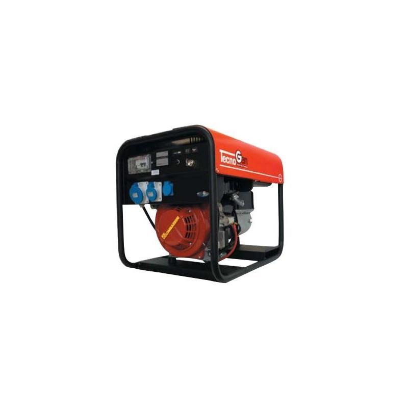 Tecnogen serie lx generatore di corrente diesel 10 4 kw for Generatore di corrente 10 kw