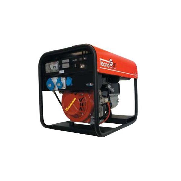 Tecnogen lx generatore di corrente gasolio monofase for Gruppo elettrogeno diesel 10 kw