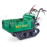 Active 1310 Ext - Carriola a Benzina 4 Tempi con Cingoli