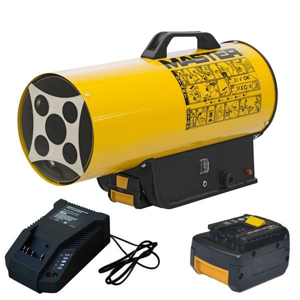 Master BLP 17 M DC - Riscaldatore a Gas a Batteria