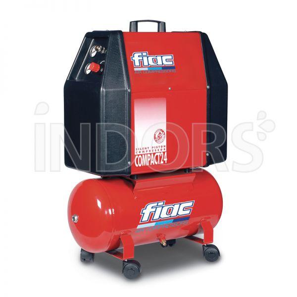 FIAC COMPACT 24 - 1,0 HP - Compressore Silenziato 25 litri
