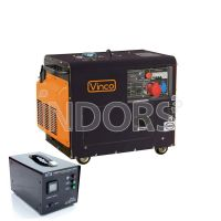 VINCO 60232 DG5500S3 - Generatore Trifase Silenziato