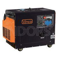 VINCO 60231 D6000SE - Generatore Diesel Silenziato