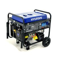 Hyundai HY6500ES-ATS Generatore Monofase 5,5 KW con Kit Ruote