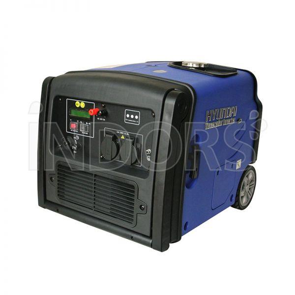 Hyundai hy 3200 i es gruppo elettrogeno portatile inverter for Generatore di corrente hyundai hy 3000 3 kw