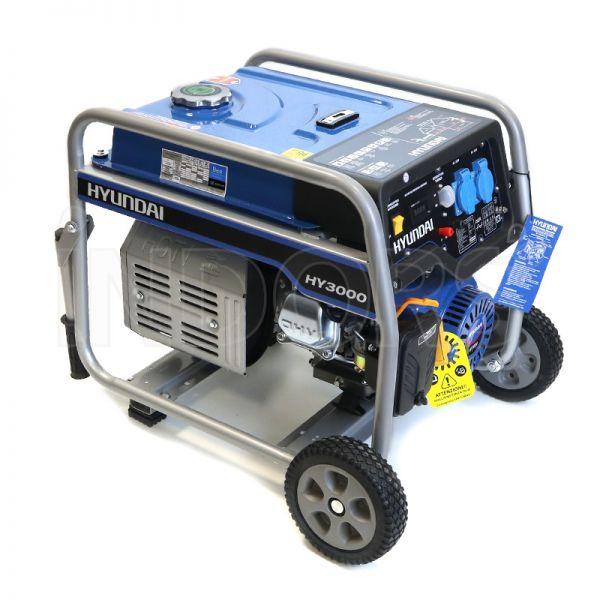 Gruppo Elettrogeno Hyundai Dynamic 65010 - HY3000 Benzina 3 kW