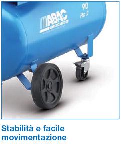 Facile movimentazione Abac S A29B CM2/CT2