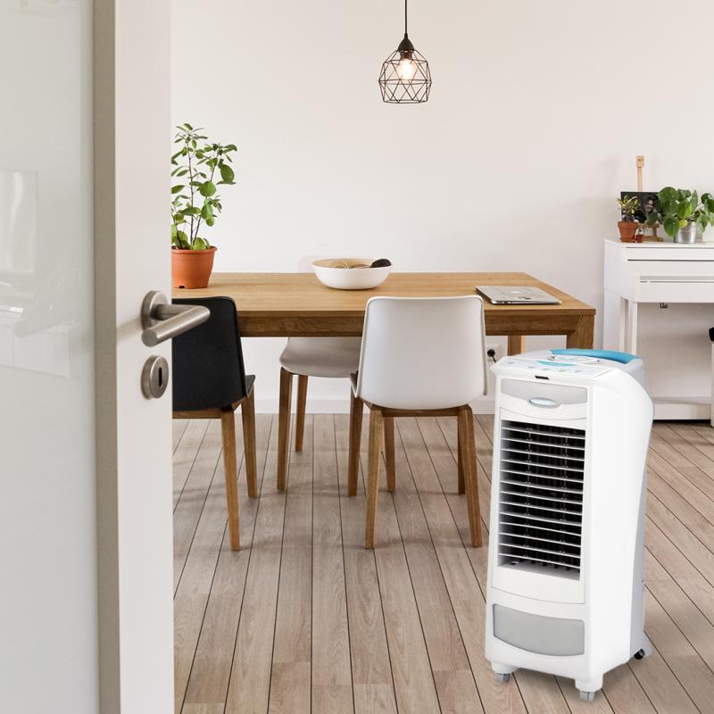 Art-eco silver i raffrescatore e ventilatore mobile per cucina