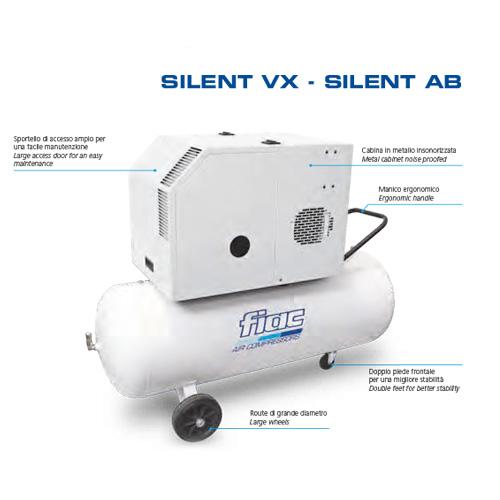 Caratteristiche Compressore Fiac Silent VX 90