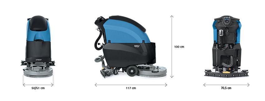 Fimap MMx52 BT Lavasciuga Pavimenti Professionale