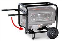 GENMAC G6000E - Generatore di Corrente 6 kW