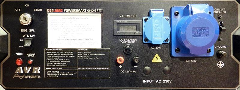GENMAC G6000E ATS - Generatore di Corrente 6kW