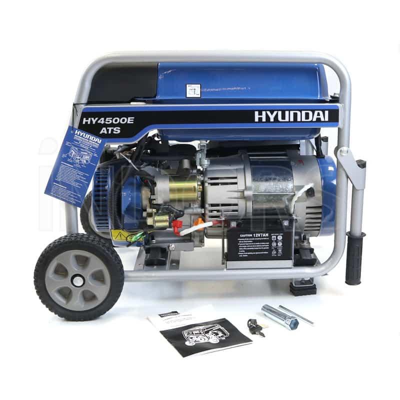 Schema Elettrico Quadro Ats : Hyundai dynamic hy e ats generatore carrellato