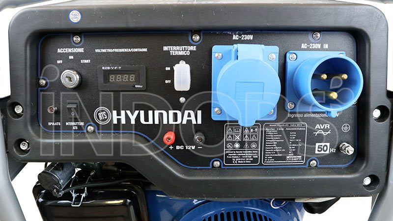 Pannello di controllo frontale Hyundai HY5500E-ATS