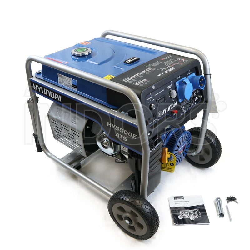 Dotazione Standard Generatore Hyundai HY5500E-ATS