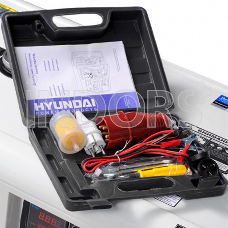 Hyundai 65238 generatore di corrente 10 kw full power for Generatore di corrente 10 kw