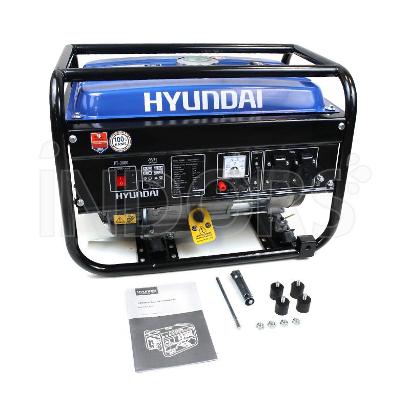 Dotazione Standard Generatore Elettrico Hyundai PT-3000 65122P