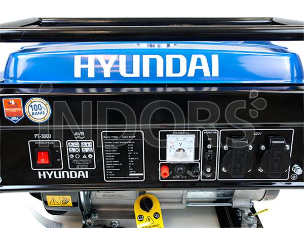 Generatore di Corrente Hyundai 65122P - Pannello di Controllo