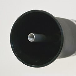 Pistola Aria Compressa A Vortice Tornado Metallo Black Rotante