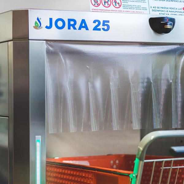 Jora 25 Sanitization Nebulization Trolley sanitation