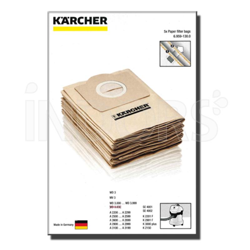 Kaercher KAERCHER SACCHETTO FILTRO CARTA 69591300
