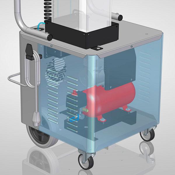 Atomizzatore per Sanificazione GV Sanispray