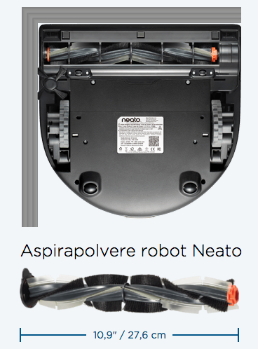 Neato D85 Botvac - Robot Aspirapolvere