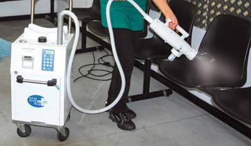 Polti Sani System Check - Elimination of Bacteria