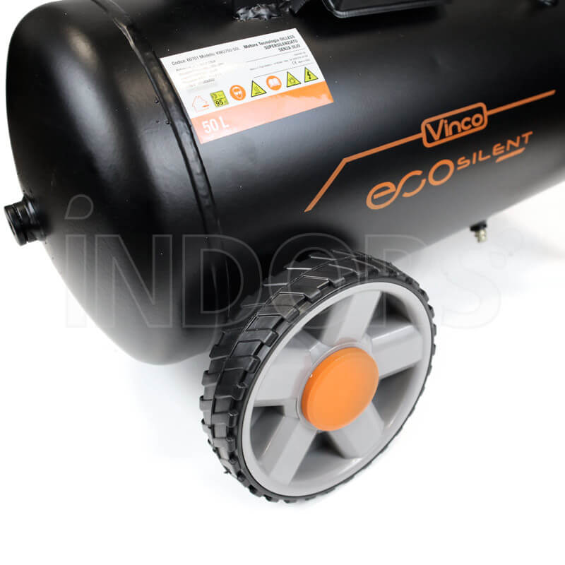 Compressore Vinco 60701 - Ruote per il trasporto